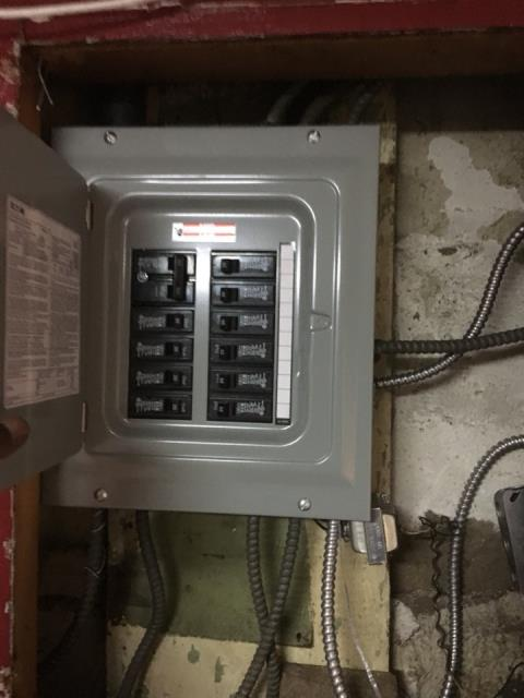 Electric Service Panel Installation