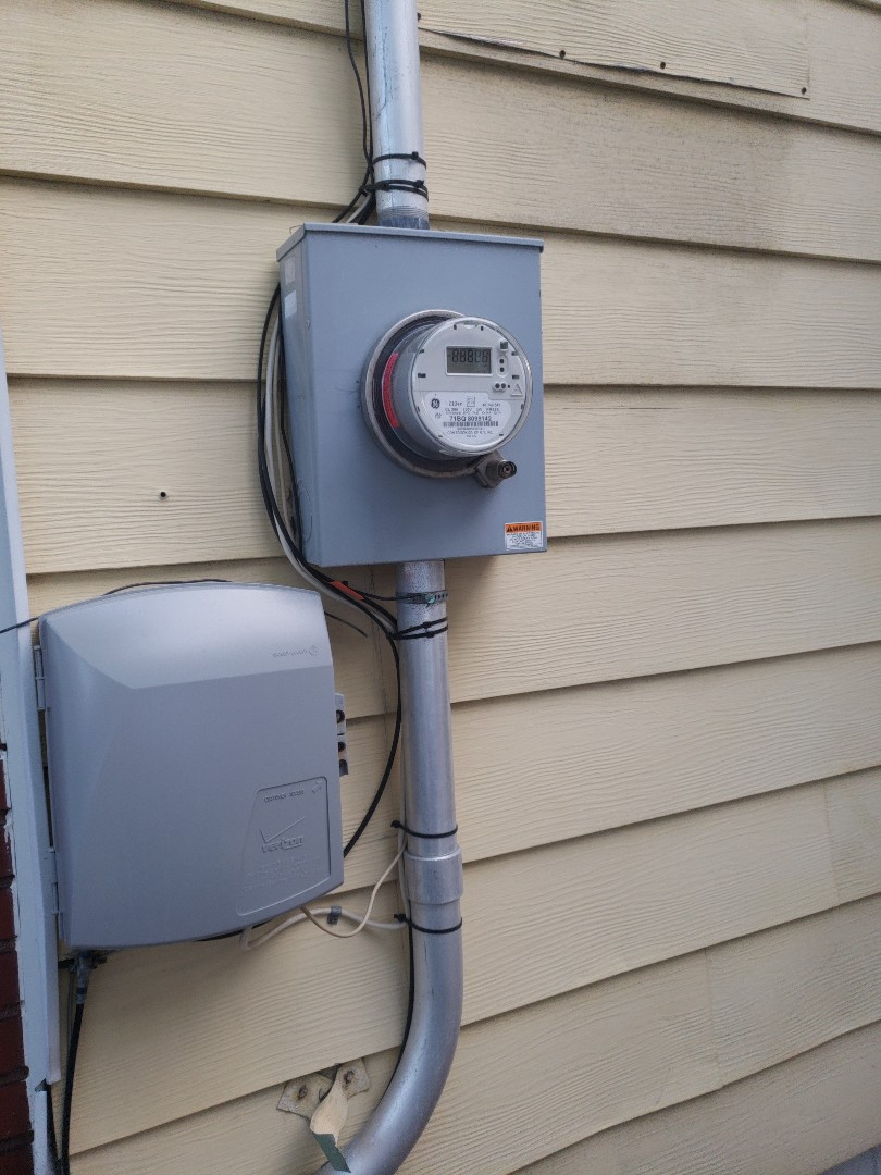 New 200 amp Con Edison  service plus meter. Come file your new service with Electrician Techs!