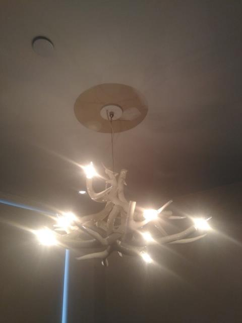 Decorative ceiling lights Installation