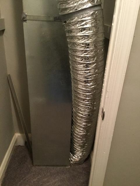 Baltimore, MD - Working on a duct-work installation for a great family in Baltimore, MD
