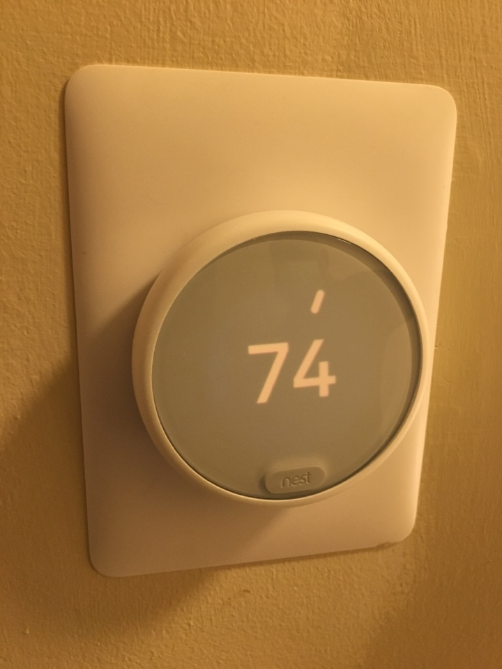 Thermostat setup