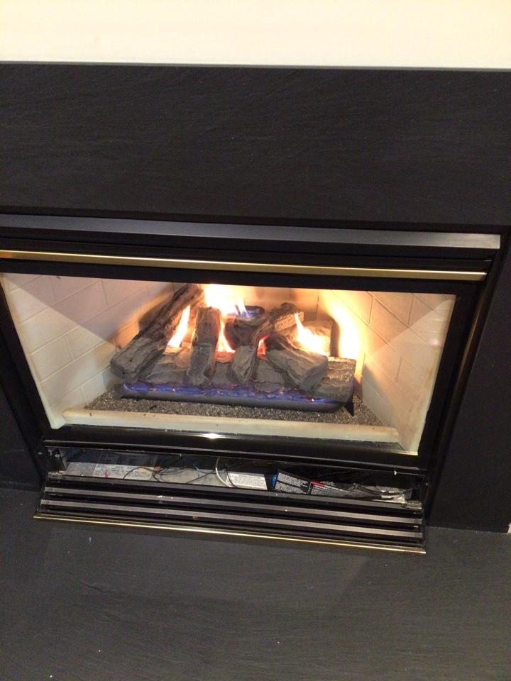 Baltimore, MD - Fireplace repair