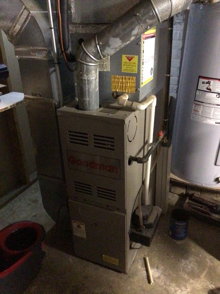 Baltimore, MD - Furnace repair