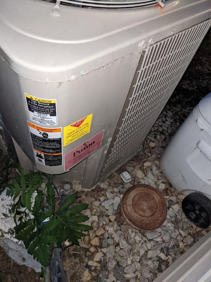 AC not working. Emergency repair!