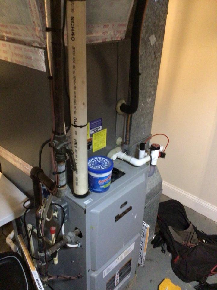 Dan performed cooling maintenance
