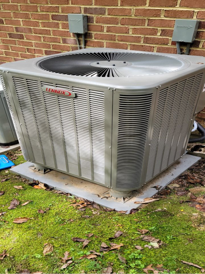 Dan performed cooling maintenance on 17 year old Trane AC condenser.