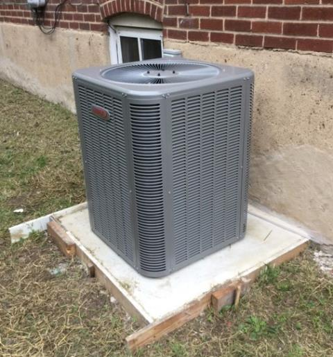 Dundalk, MD - Working on a Lennox Air Conditioner installation and Gas Furnace installation for a great family in Dundalk, MD