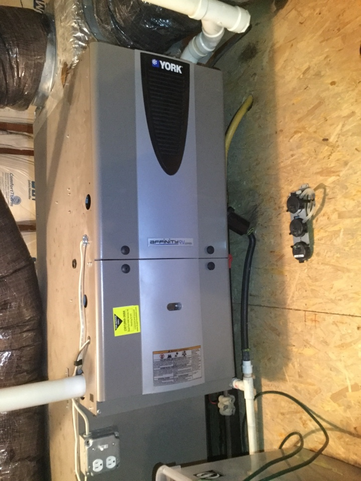 Towson, MD - Working on a Furnace Repair for a great family in Towson, MD