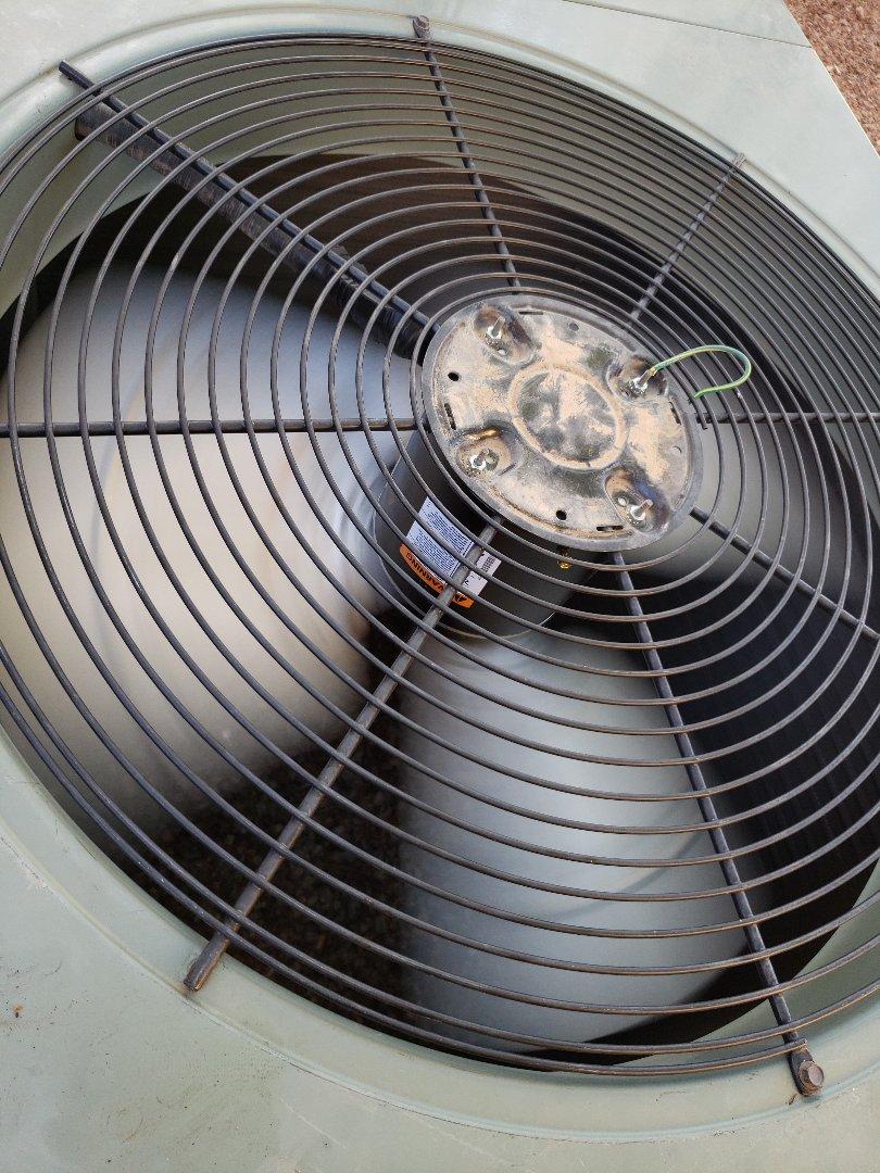 Gilbert, AZ - Condenser fan motor replacement