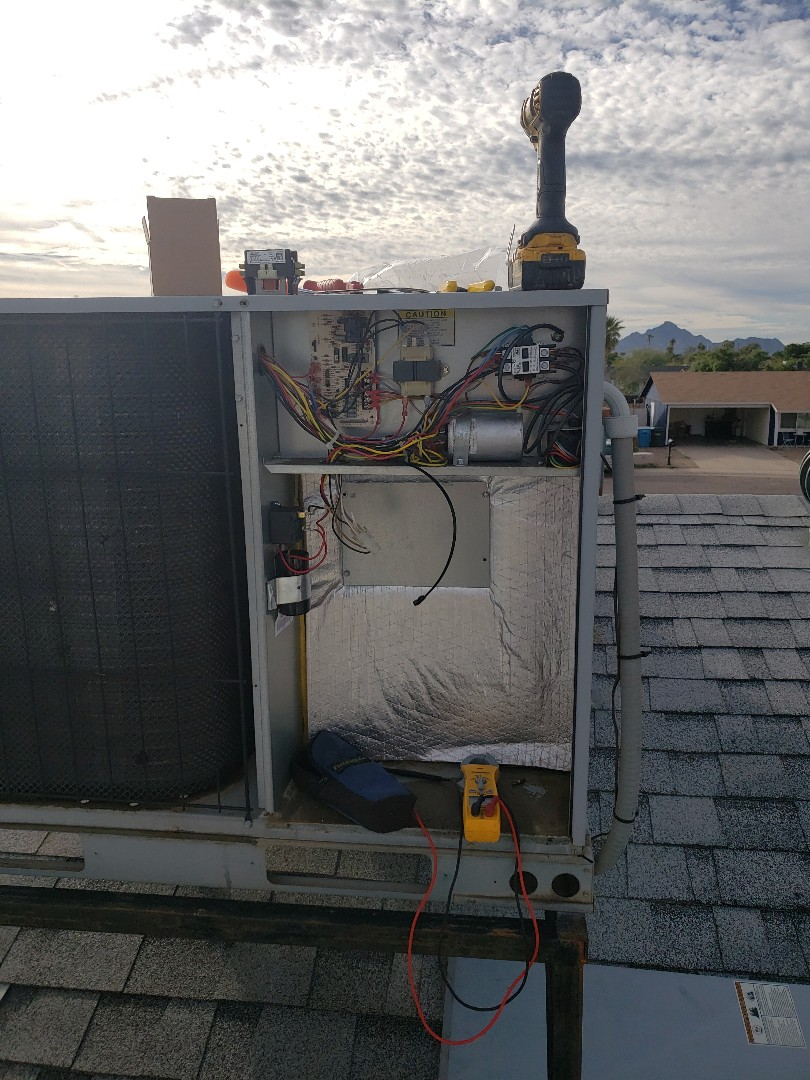 Phoenix, AZ - Heating tune up and contactor replacement