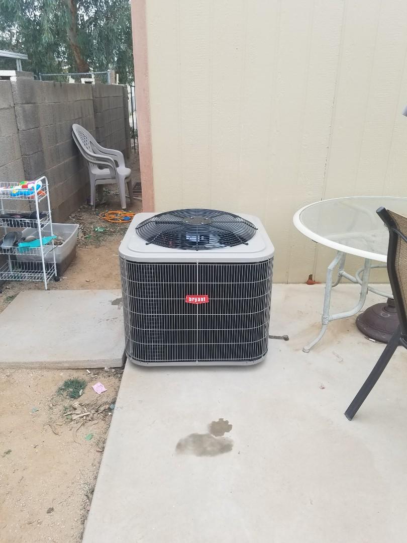 Goodyear, AZ - Install new unit