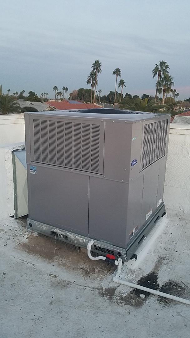 Sun City West, AZ - Install new unit