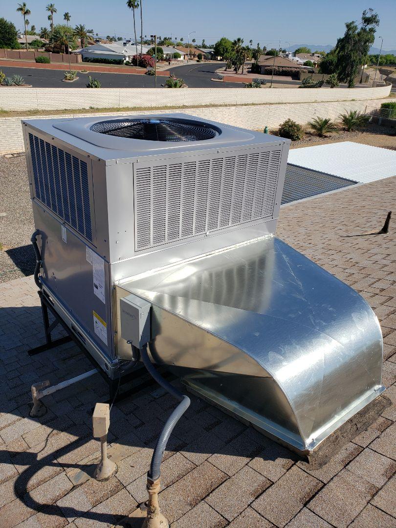 Sun City West, AZ - New unit insulation