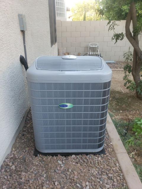 Peoria, AZ - New Carrier Infinity system installation