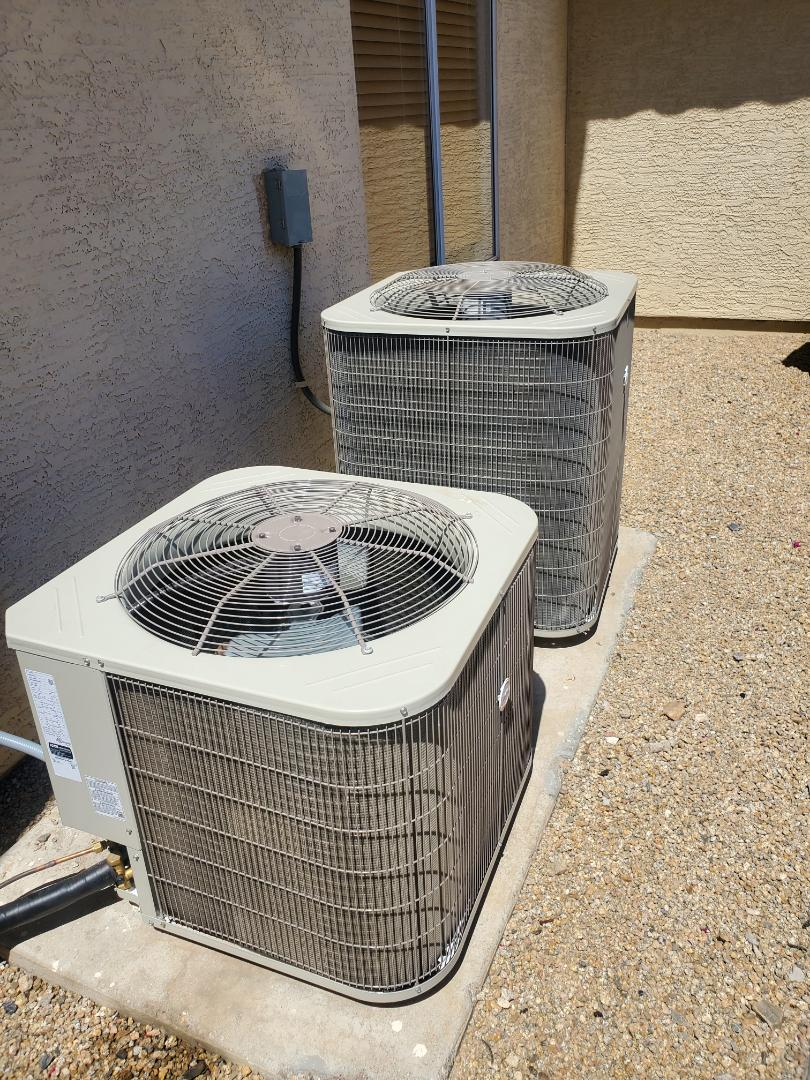 Scottsdale, AZ - Residential AC not cooling diagnosis.