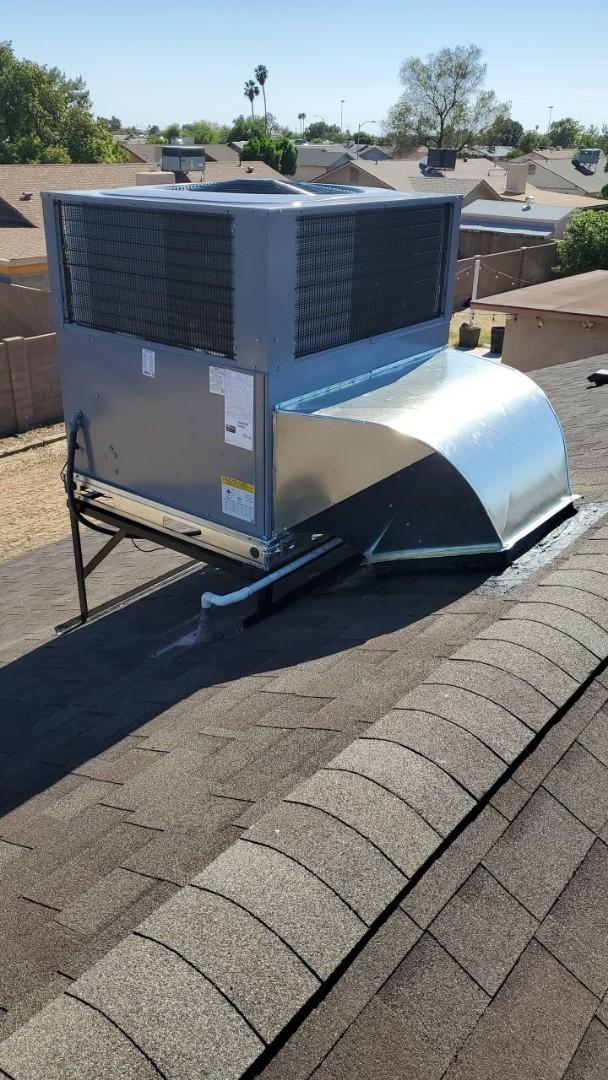 Peoria, AZ - Package Unit Installation
