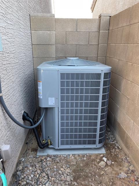Phoenix, AZ - New Carrier 2 stage split system installation