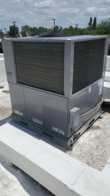 Scottsdale, AZ - Commercial package unit installation