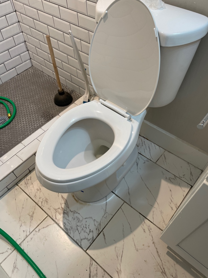 Remove and replace Mr. Tom's toilet bowl toilet flushing and working fine no it's