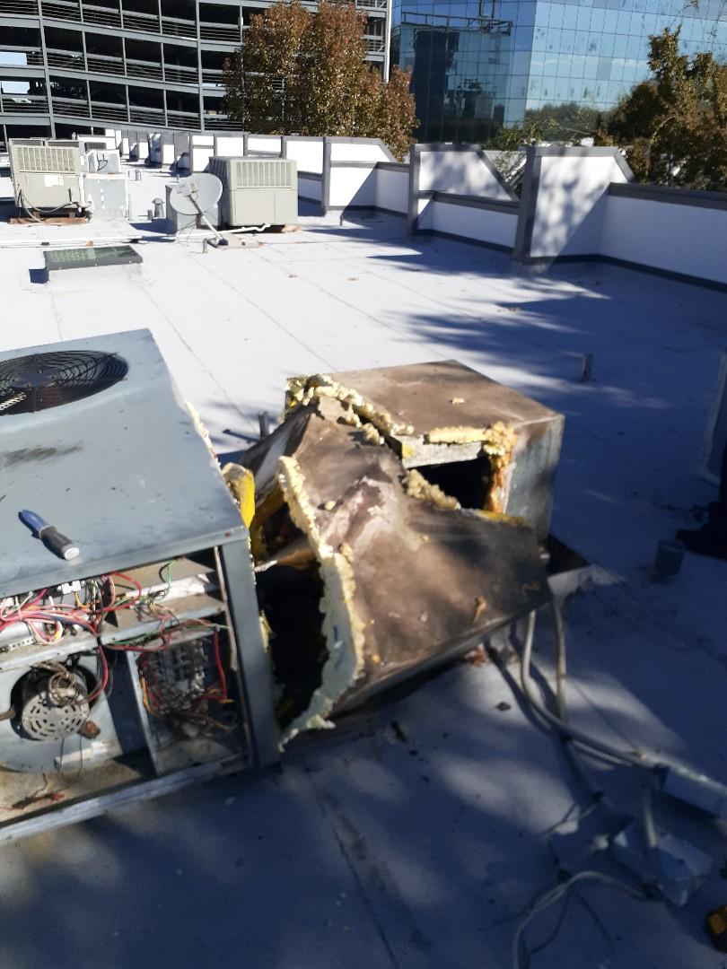Houston, TX - Repair broken ac ductwork