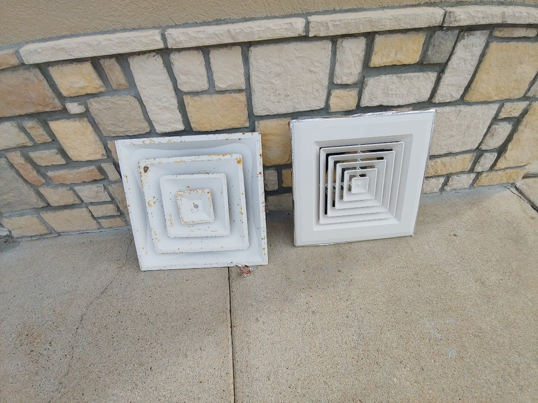 Houston, TX - Replace commercial supply air vents