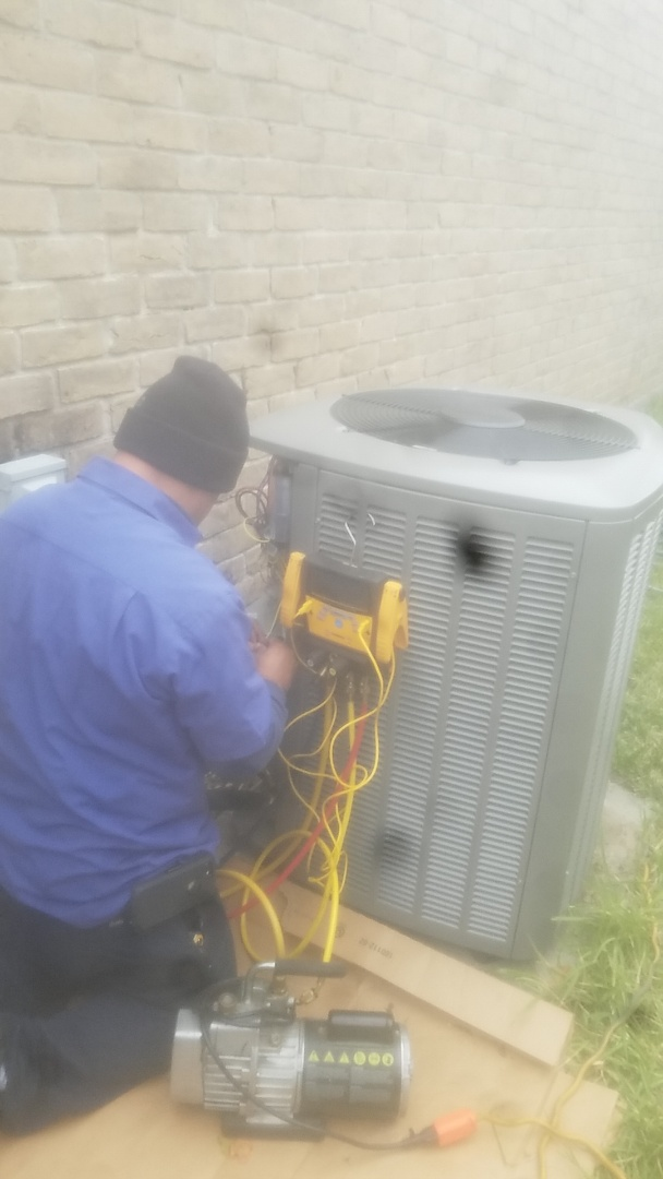 Houston, TX - Replace Lennox ac unit