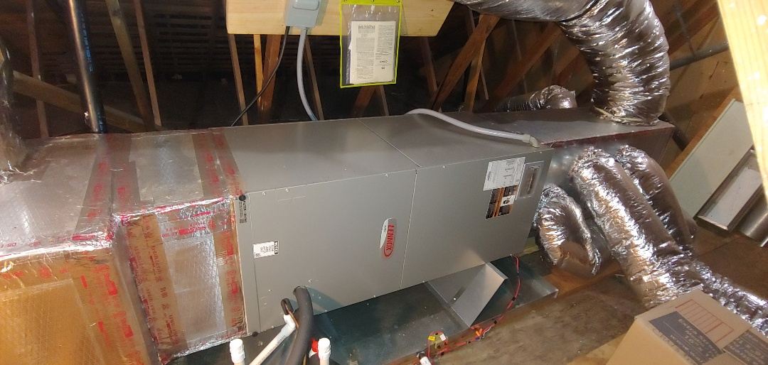 Houston, TX - Heating Check up on Lennox Airhandler.