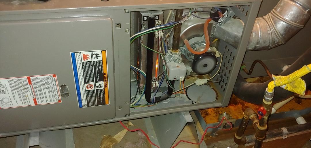 Houston, TX - Heating Check up on Lennox Furnace