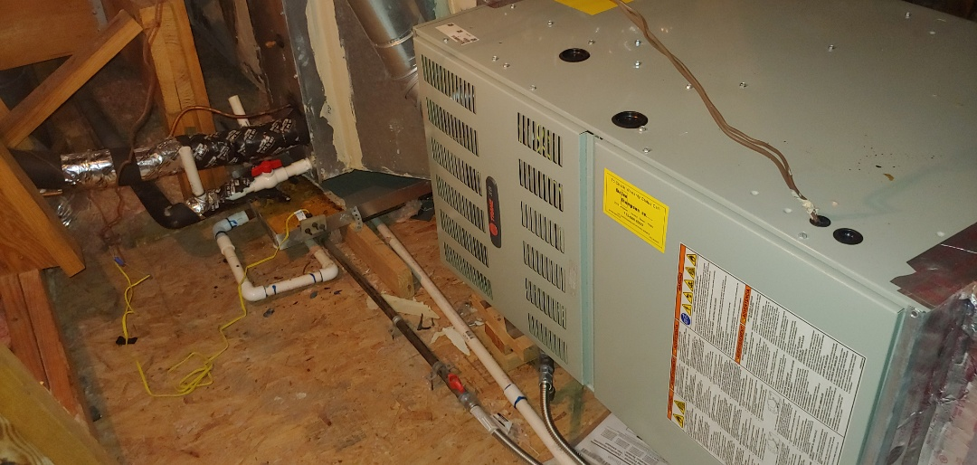 Houston, TX - Heating Check up on 2 Trane furnaces.
