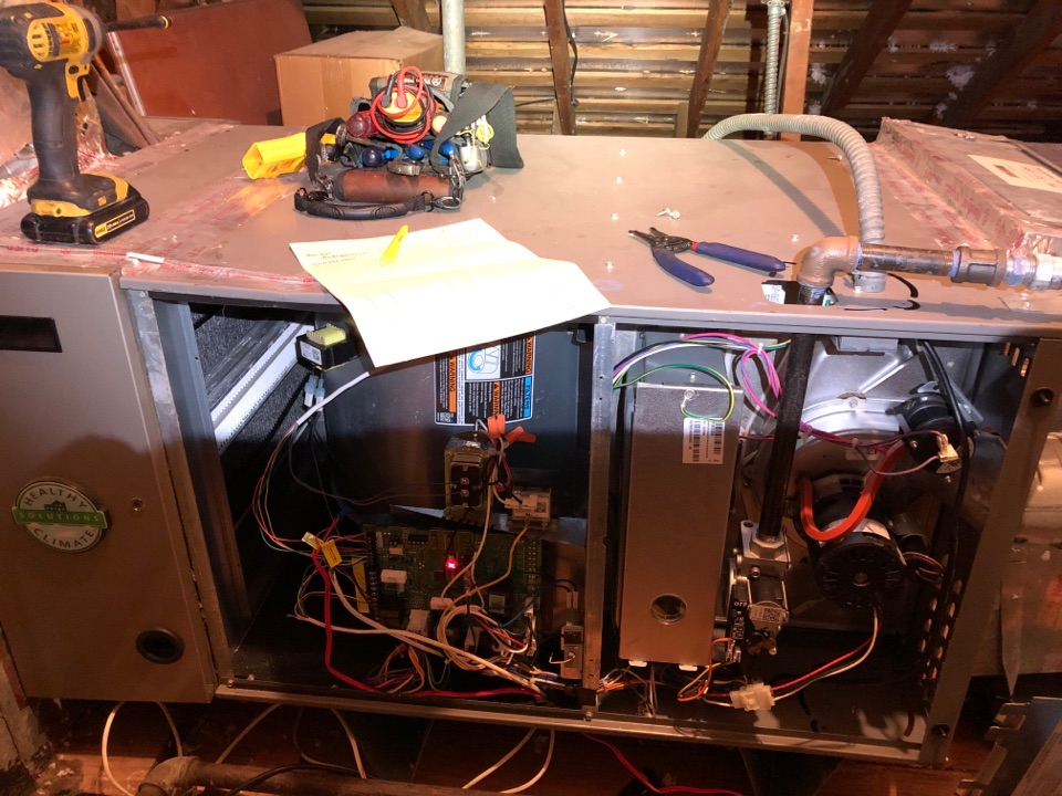 Performed safety and heating maintenance on Lennox furnace