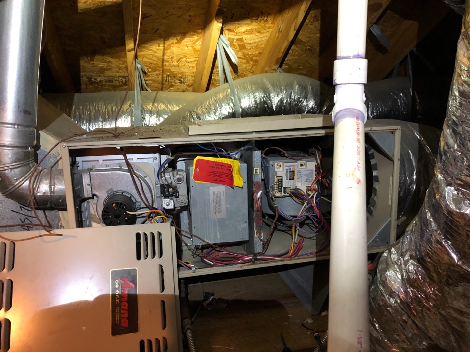 Performed safety and furnace maintenance in Katy Texas systems on Amana systems