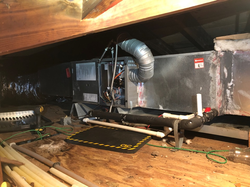 Performed safety and heating maintenance on Lennox system