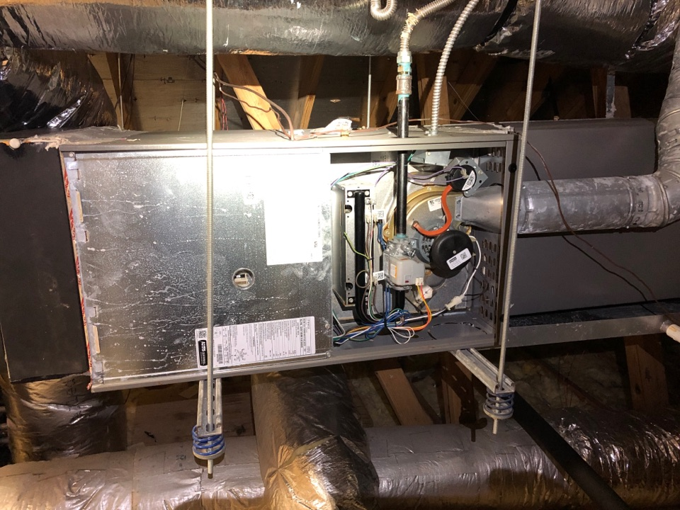 Performed safety and heating maintenance on  Lennox