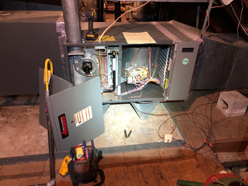 Performed safety and heating maintenance on Amana systems