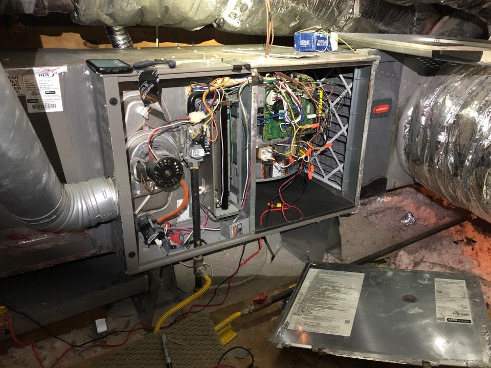 Katy, TX - Performed furnace repair
