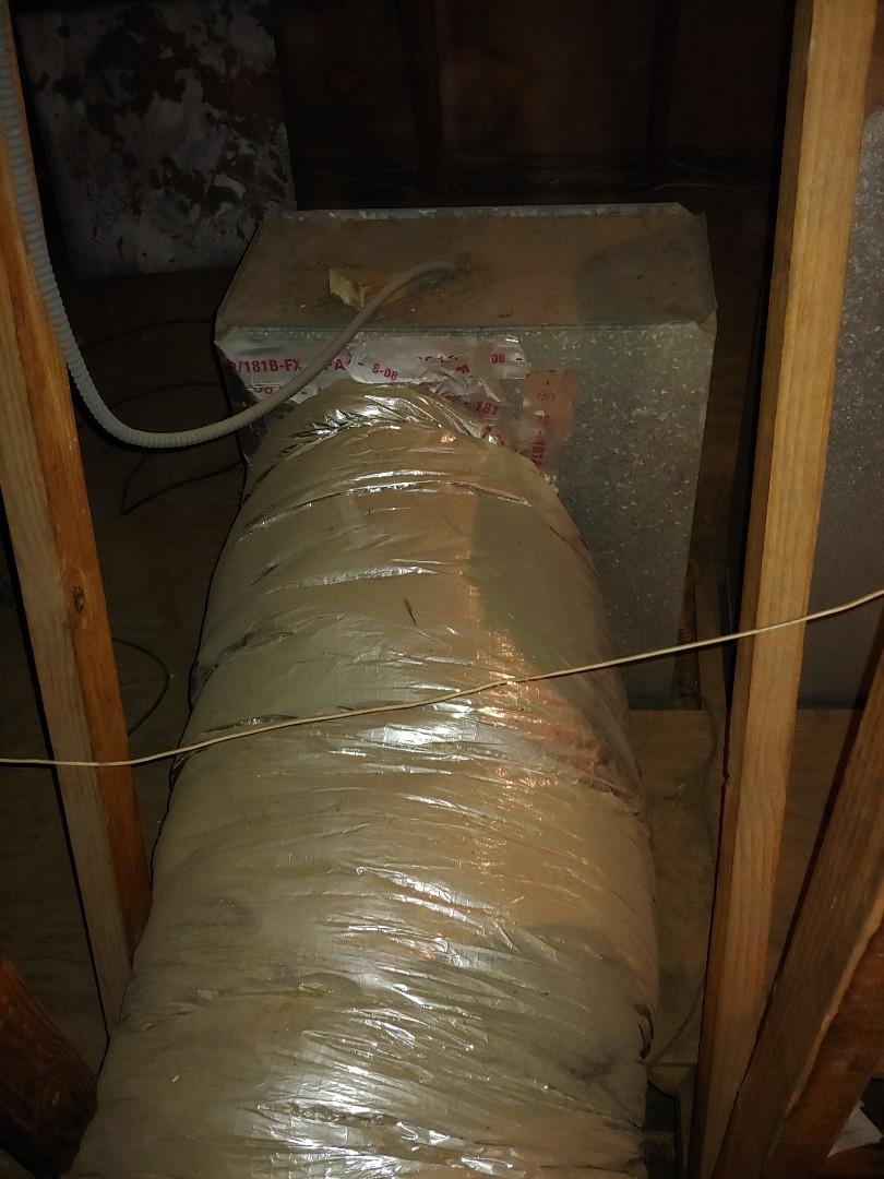 Houston, TX -  working on sale next door. Neighbor found his door hanger