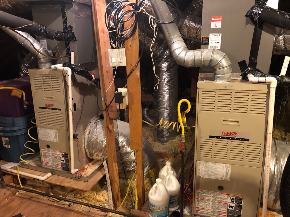 Houston, TX - Performed maintenance for cooling systems of Lennox systems