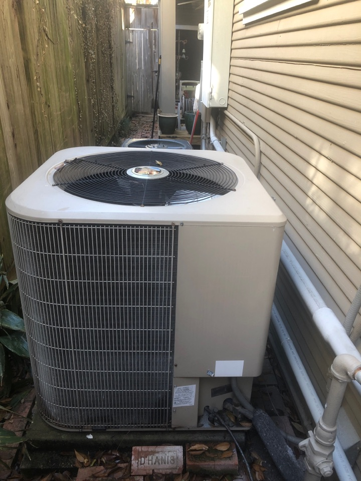 Houston, TX - Performed cool inspection and repair on York system
