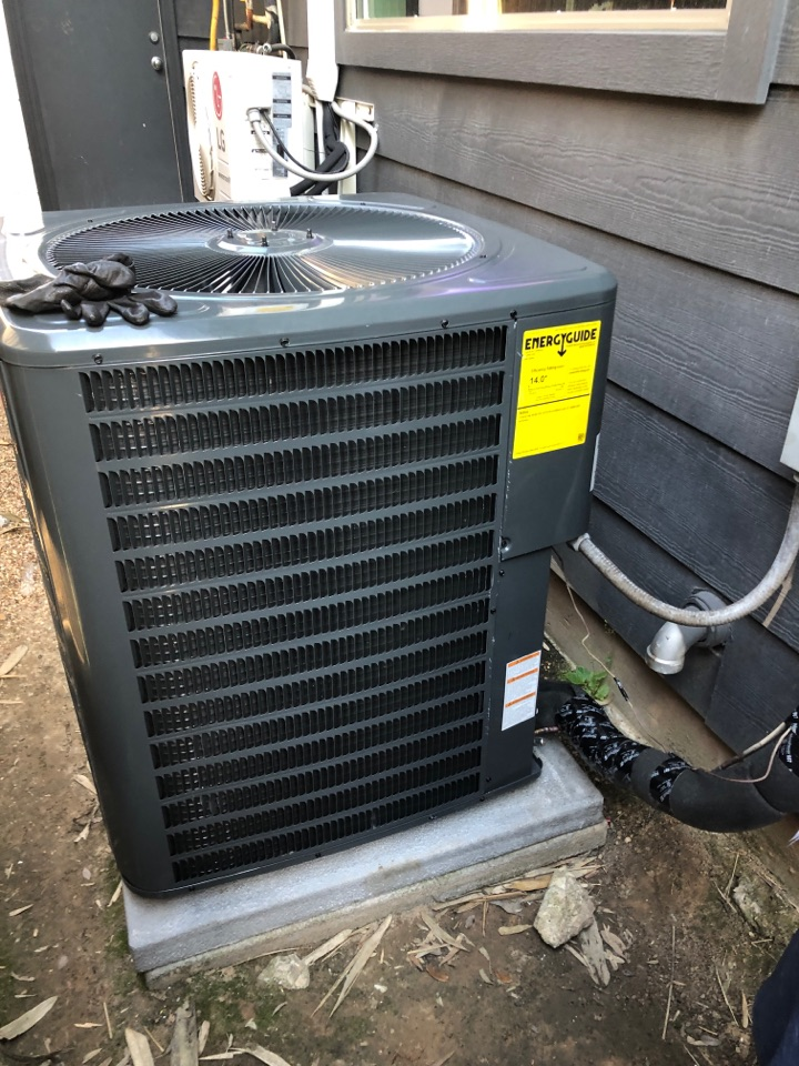 Houston, TX - Performed new Home Comfort installation for Goodman system