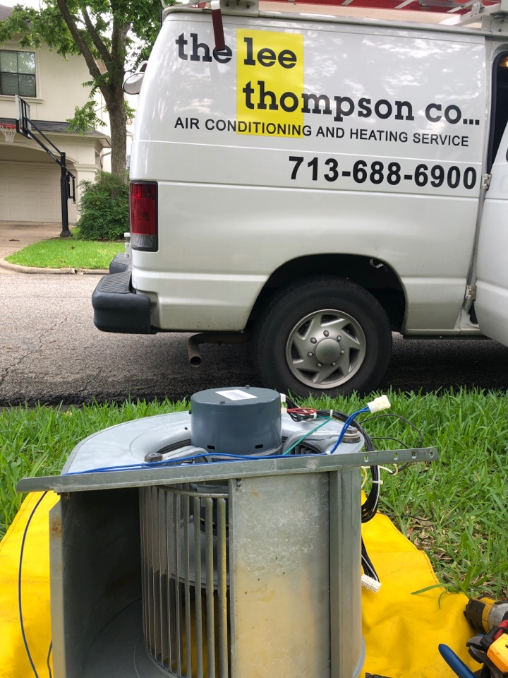 Bellaire, TX - Performed blower motor replacement for Lennox cooling system