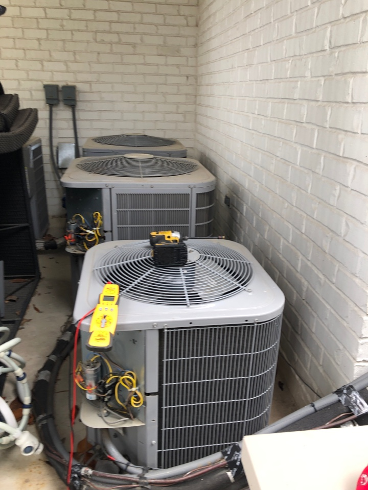 Houston, TX - Performed preventative maintenance on residential systems for Carrier systems