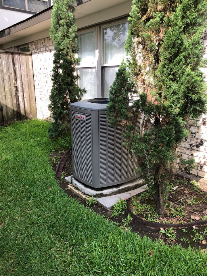 Houston, TX - Performed air conditioning check on system no cooling, made a couple adjustments, system now cooling fine.
