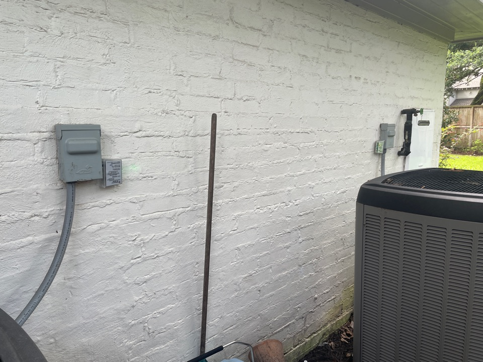 Houston, TX - Performed complete system surge protection for outdoor and indoor Lennox systems
