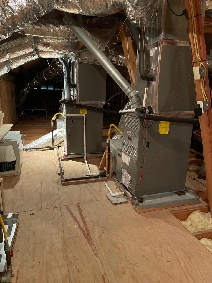 Houston, TX - Performed preventative maintenance for two three Lennox systems