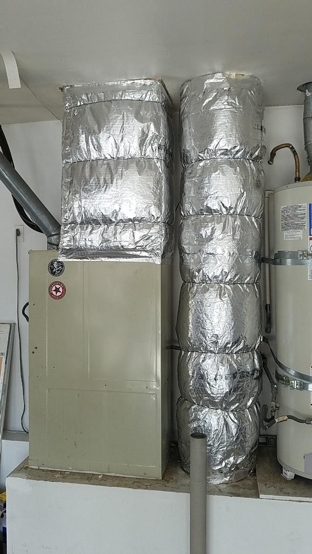San Jacinto, CA - Insulating ductwork in san Jacinto