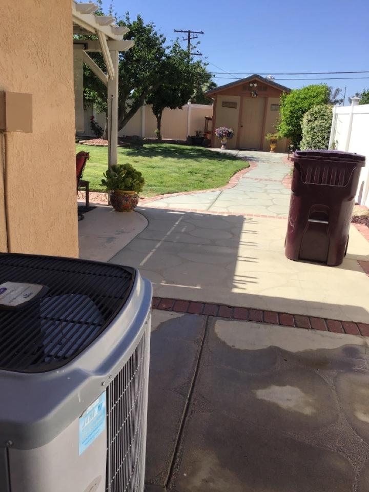 Menifee, CA - Performed cooling maintenance