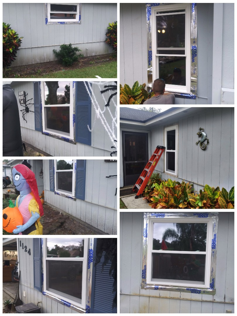 Jacksonville, FL - Installed 7 nailfin windows/removed 1x4s  EcoView