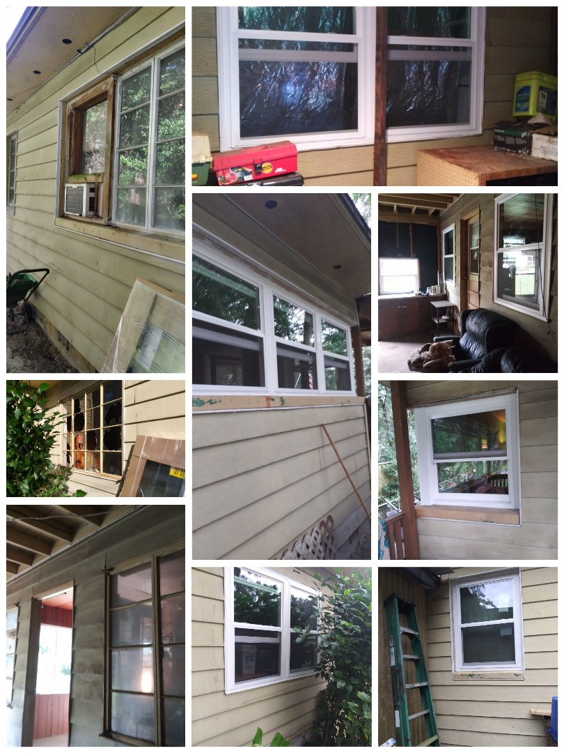 Jacksonville, FL - The Palmer house! Installed 18 windows Team EcoView