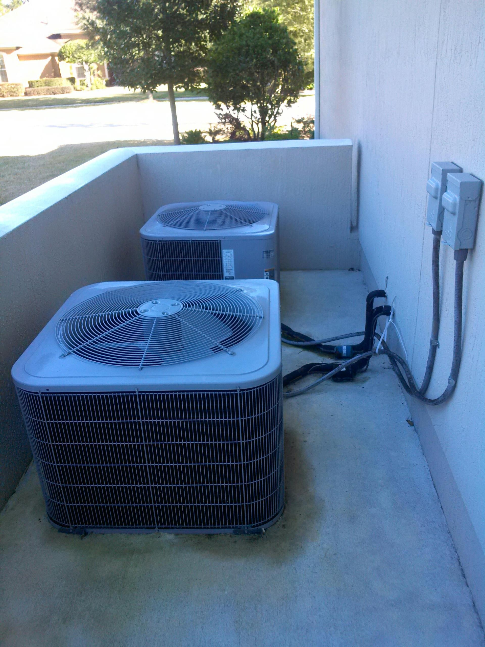 Saint Augustine, FL - Performed maintenance on two Carrier heat pump systems