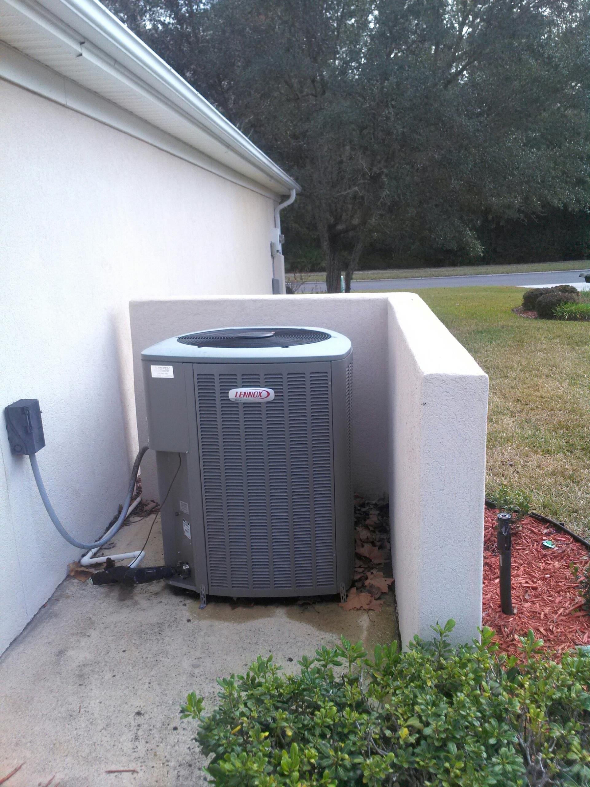 Orange Park, FL - Performed maintenance on Lennox heat pump system